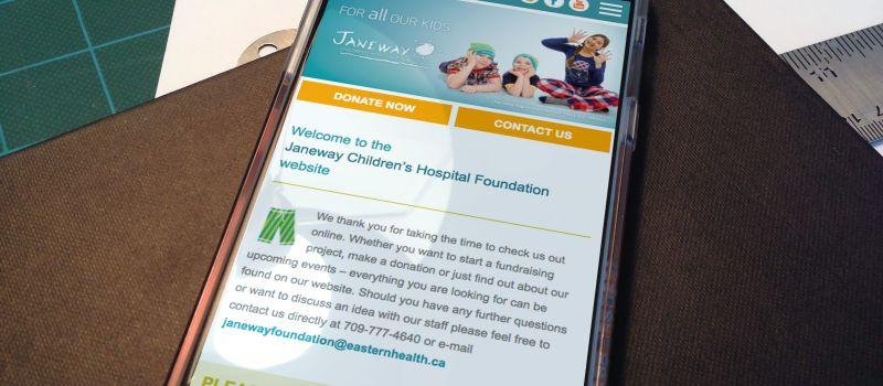 Janeway Children S Hospital Foundation Plum Creative Works